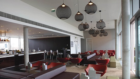 Interior view of DoubleTree by Hilton Hotel Leeds City Centre